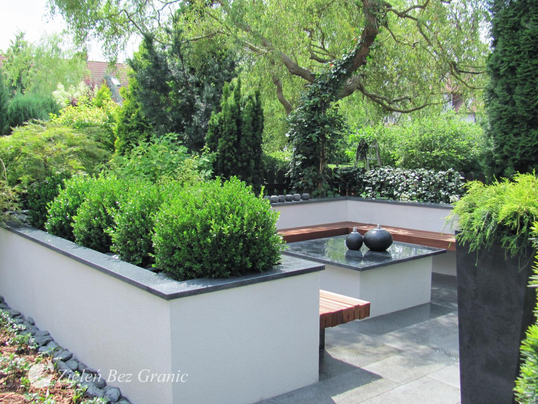 Urban, modern garden