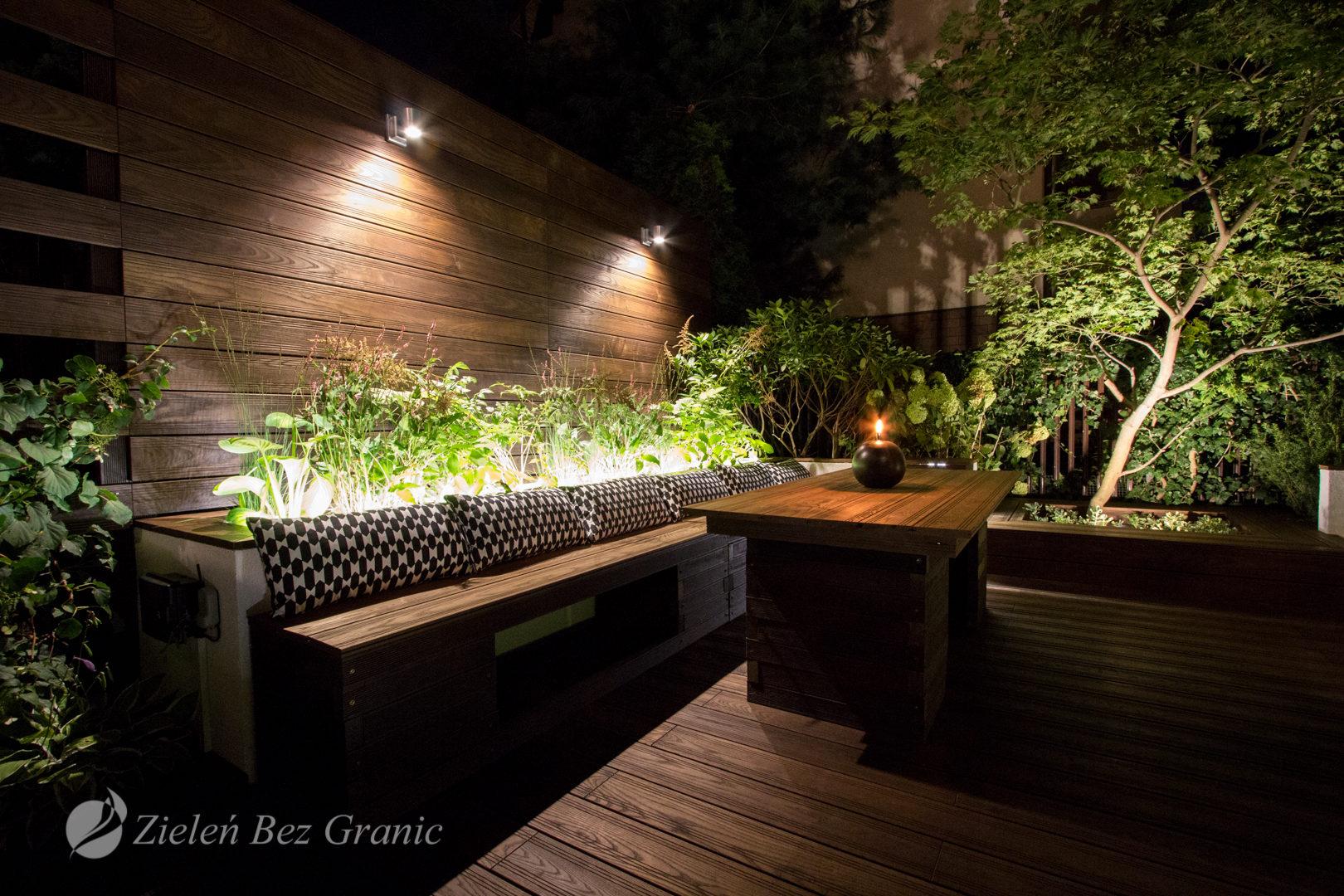Pomysł na ogród przydomowy.