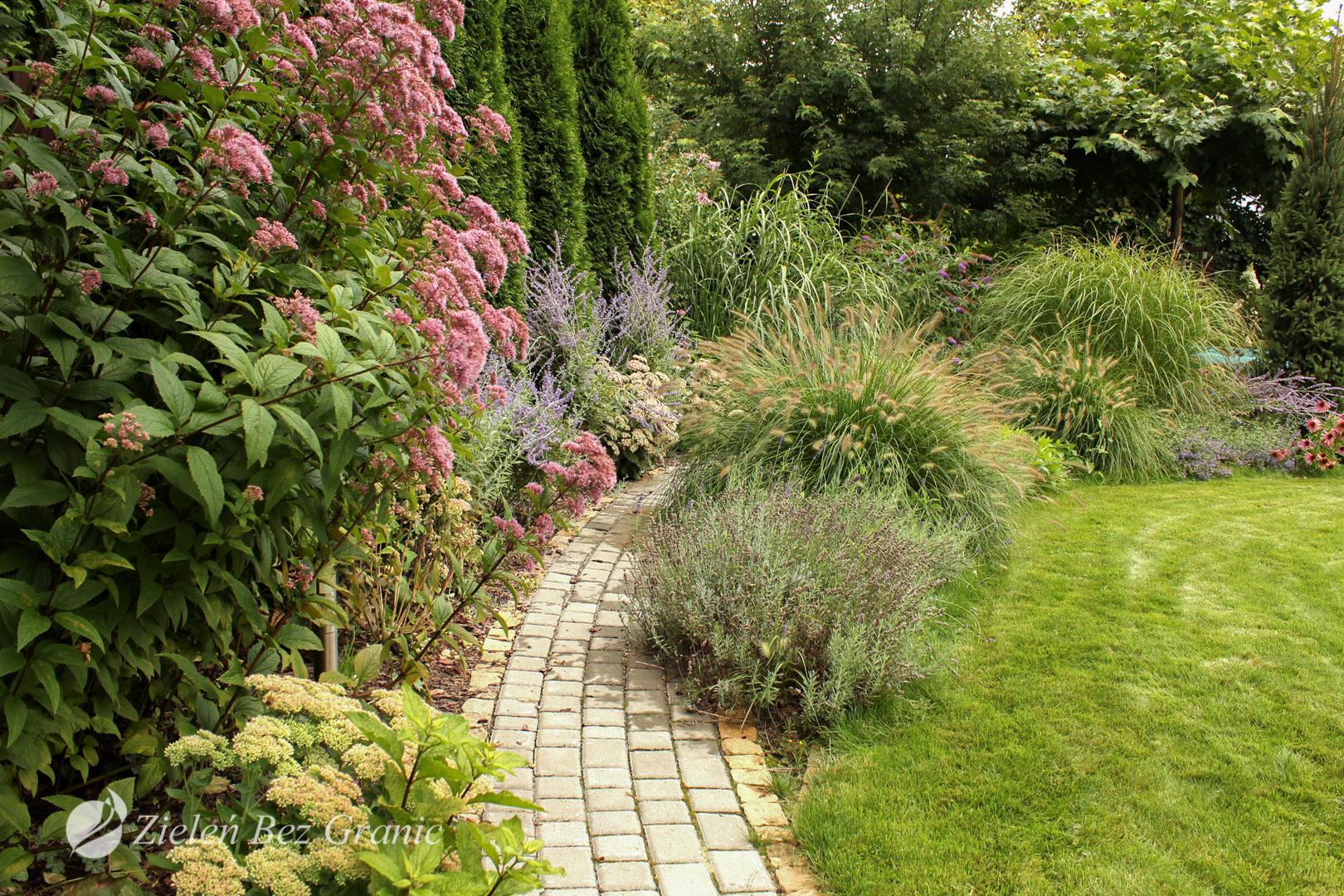 Pomysł na ogród pełen kolorów.