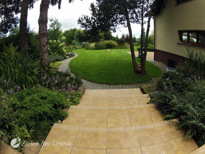 Klasyczny ogród.