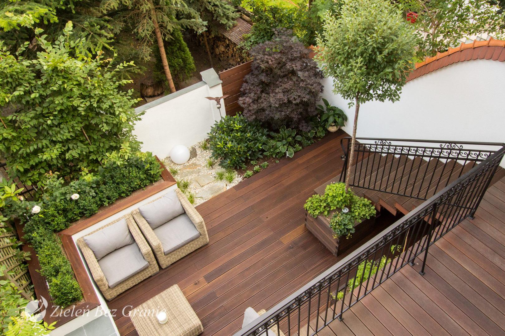 Pomysł na ogród miejski.